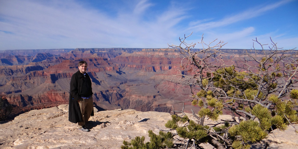 Barry at the Grand Canyon