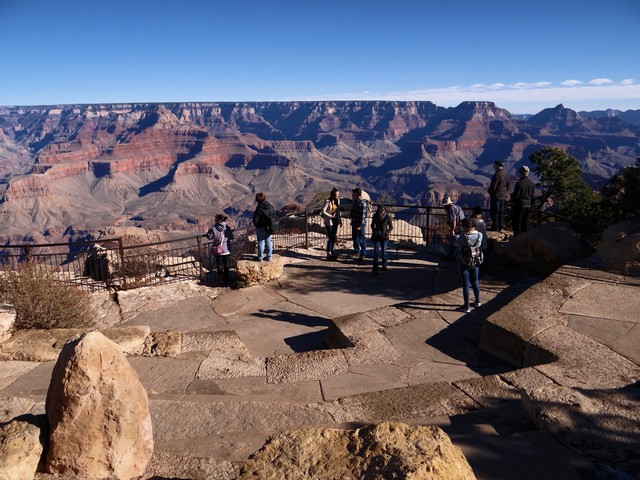 Grand Canyon: Mather Point Amphitheater