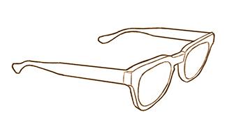 Divider-glasses