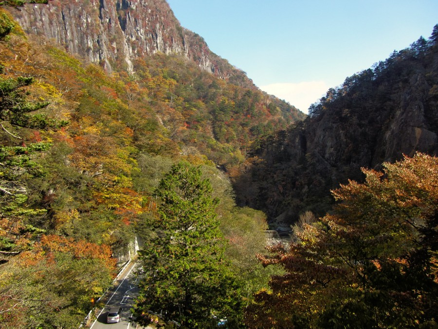 осень горы