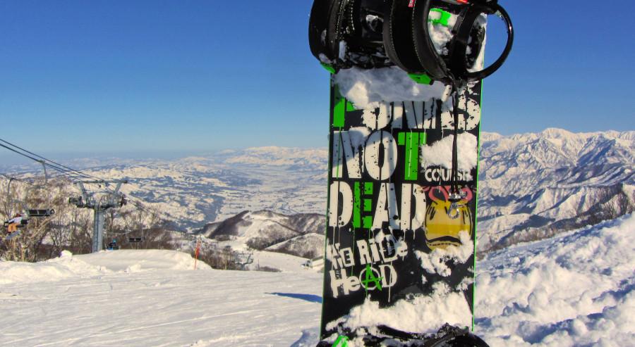 сноуборд в японии
