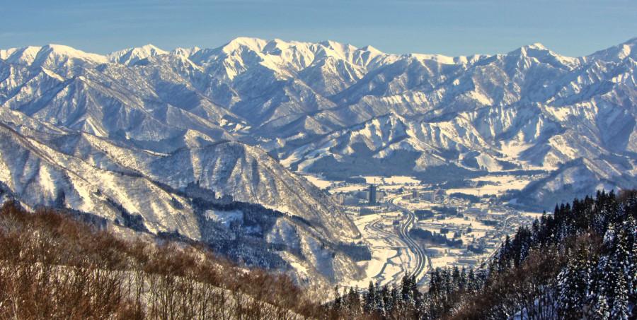 япония горы