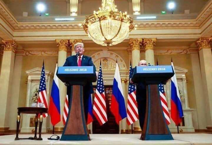 великий президент великой страны-Дональд ТРАМП