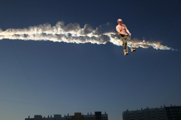 putin on meteor back