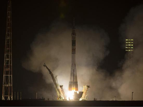 Soyuz lift-off