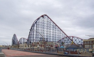 The Pepsi Max Big One at Pleasure Beach, Blackpool