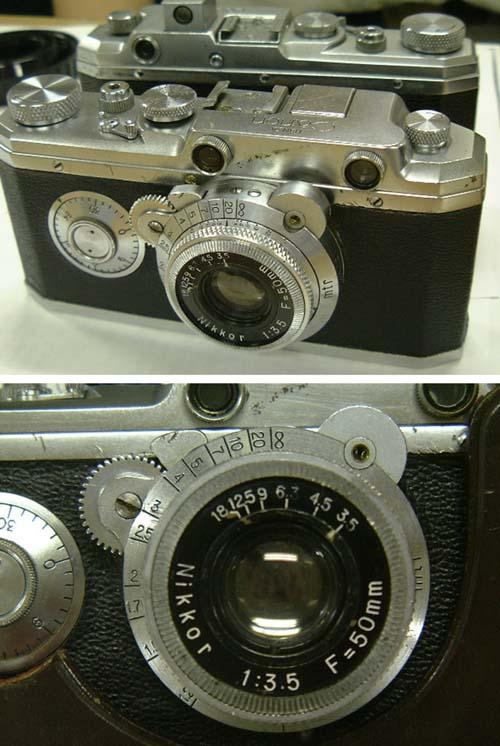 Canon Hansa камеры с объективами Nikkor