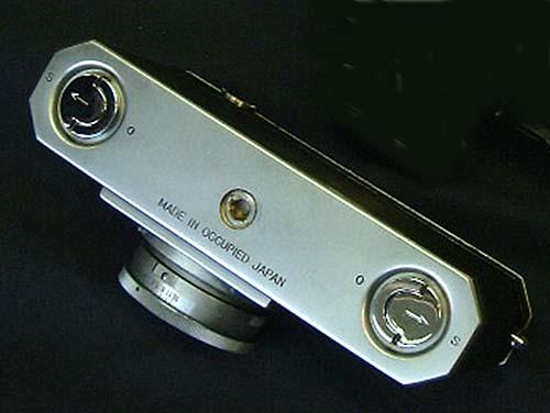 Надпись на нижней панели Nikon I