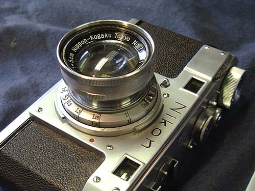 Nikkor 5cm f/2 на Nikon I.