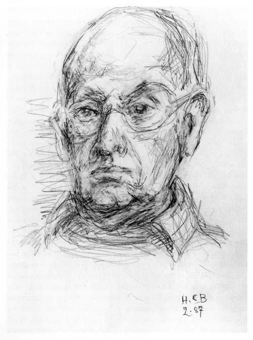 Анри Картье-Брессон. Автопортрет из книги «Tete-a-tete». Portraits by Henri Cartier-Bresson