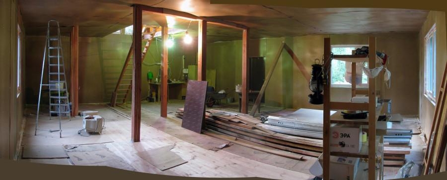 дом1 14 стены с ТИ пол черн потолок