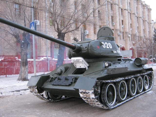 танк34
