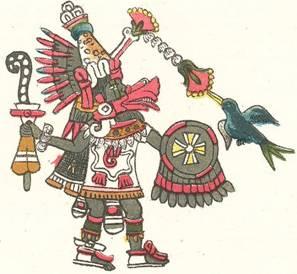 Рис  28  «Кецалькоатль» - «бог» мексиканских индейцев Изображение из кодекса Мабекчиано