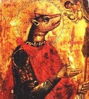 Рис 6 Вторая половина XVII века, икона из музея Ростовского Кремля