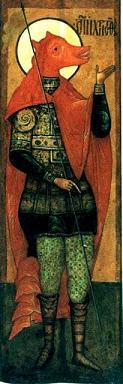 Рис.8 XVI век, икона Чудов монастырь, Москва