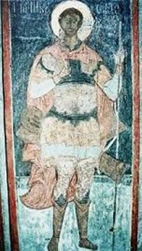 Рис.16 Фреска Спасо-Преображенского собора,  г. Ярославль