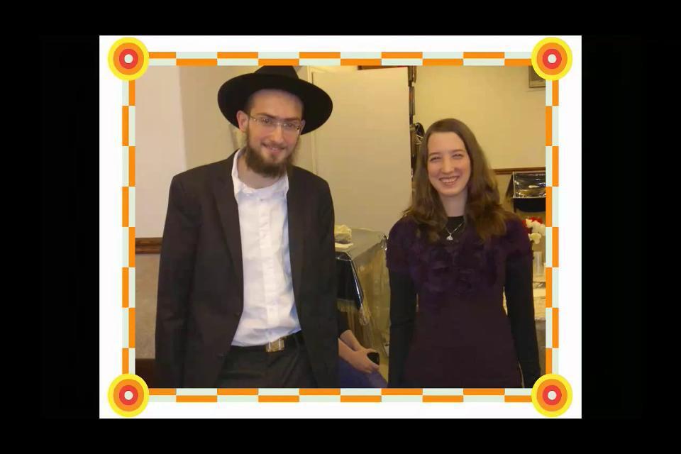 Ahuva and Yitzy at vort