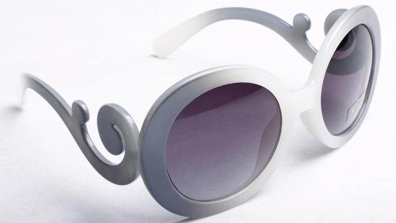 Baroque Ombre Grey Sunglasses