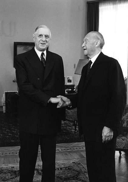Degaulle-Adenauer-wikimedia Commons German Federal Archives