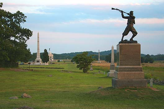 High_Water_Mark_-_Cemetery_Ridge,_Gettysburg_Battlefield