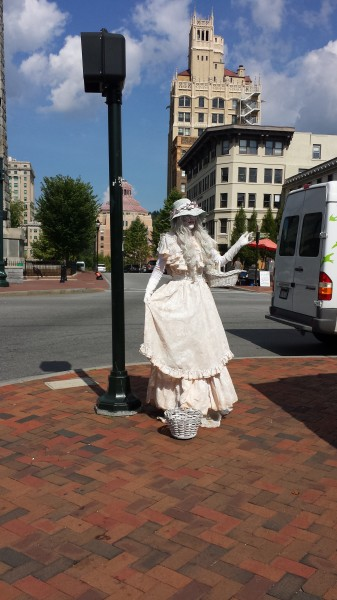 Asheville ghost