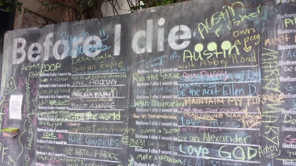 Asheville death wall
