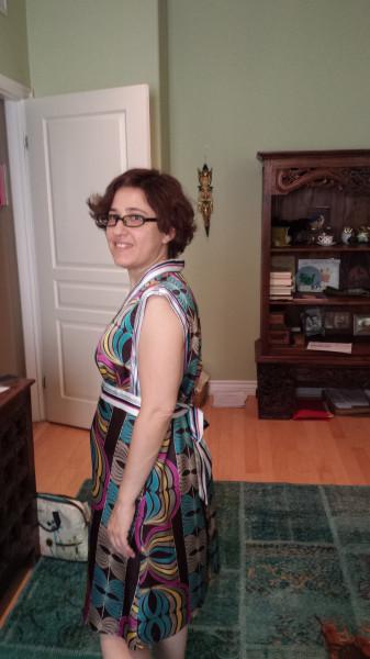Paisley dress full
