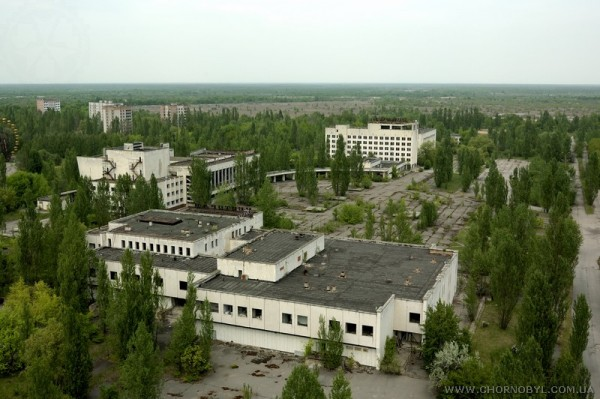 поход в чернобыль