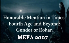 2007 MEFA Honorable Mention: Comforting Silence