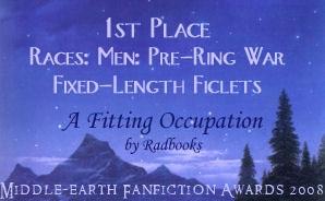 2008 MEFA Award 1st for A Fitting Occupation
