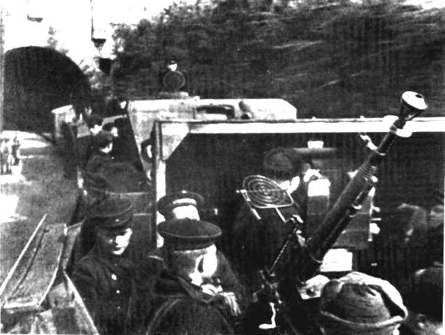 1942_Севастополь_бронепоезд_Железняков_ДШК