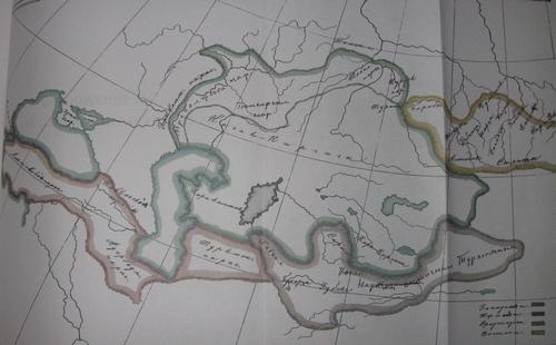 Радлов В.В. Карта расселения народовв блог