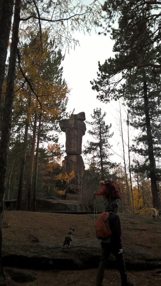Скальники Олхинского плато - Старуха