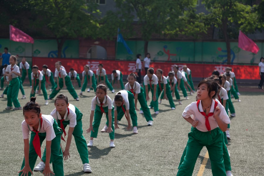 china school Gymnastics 2