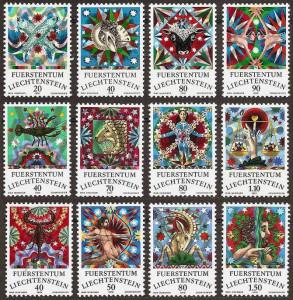 liechtenstein-1976-zodiac-signs