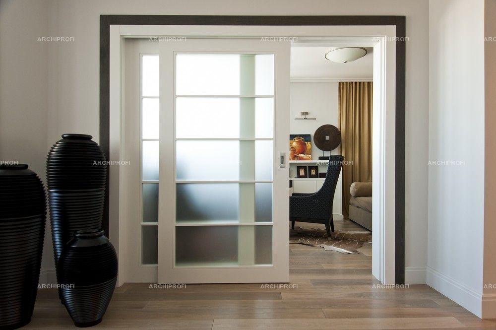 Дизайн раздвижных дверей с