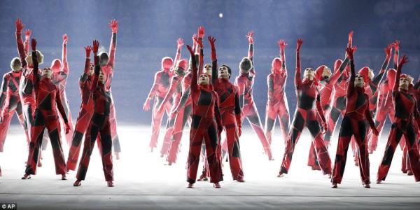 Какой момент открытия Олимпиады вам понравился больше всего? 1384765351031