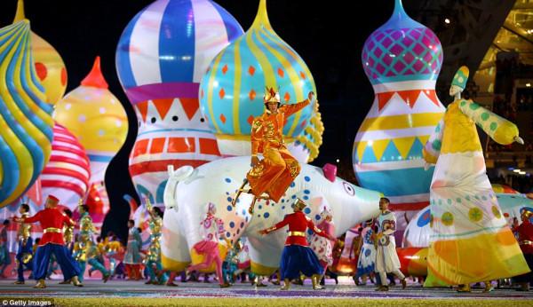 Какой момент открытия Олимпиады вам понравился больше всего? ThisIsRussia07