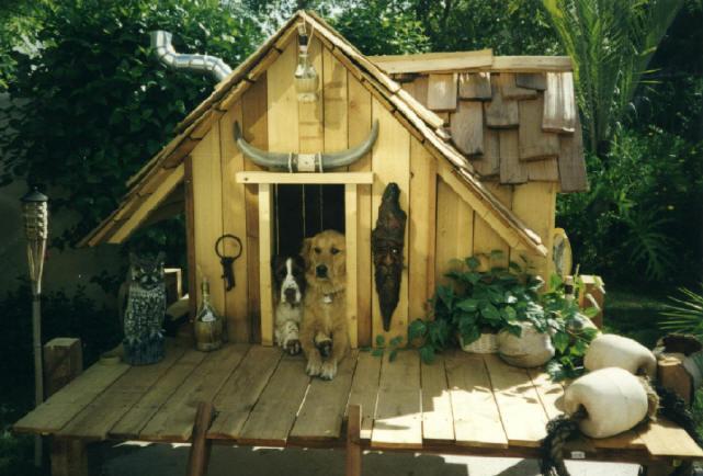 Дом для собаки своими руками