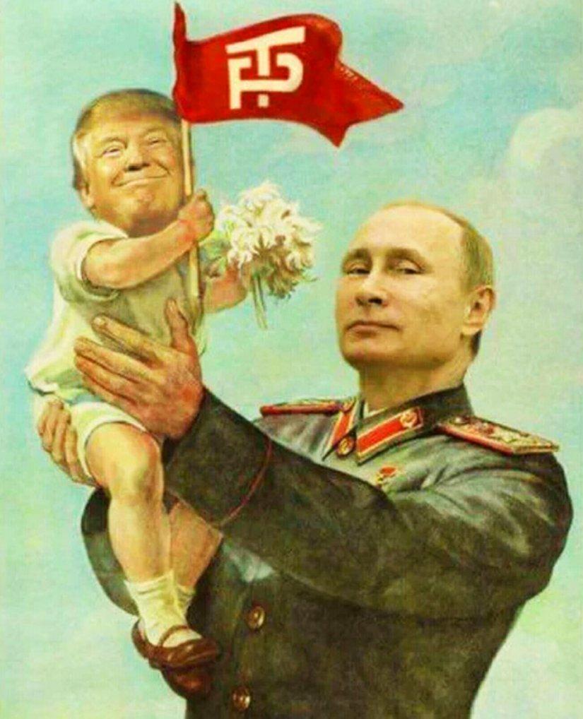 Новости Крымнаша.  «У ждунов ступор: Трамп — чмо или ещё наш?»