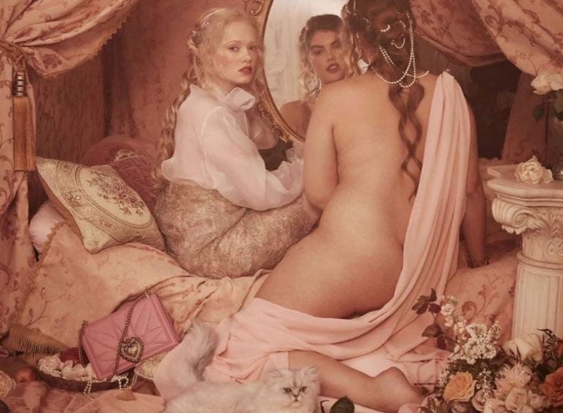 Dolce & Gabbana выпустили рекламу в стиле Рубенса