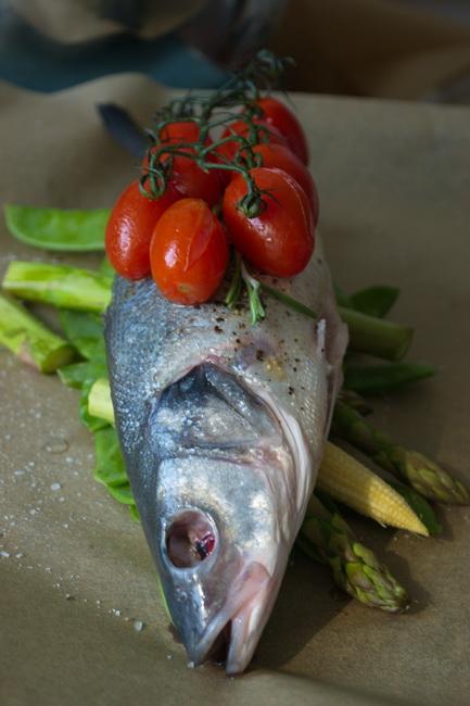 сибасс с овощами5