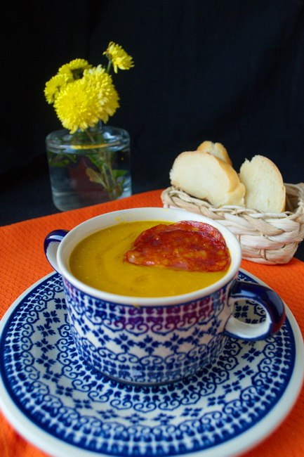 суп с тыквой 8