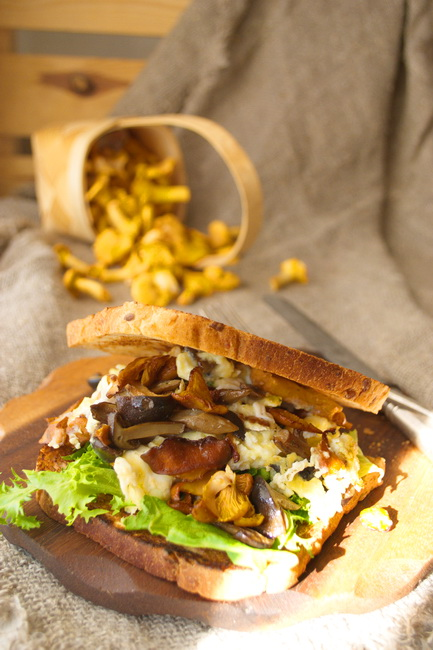 сэндвич с грибами 008