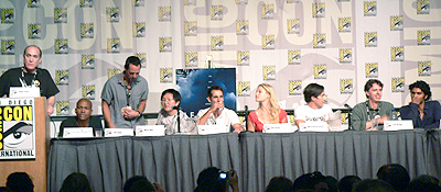 Some of those on the Heroes panel.