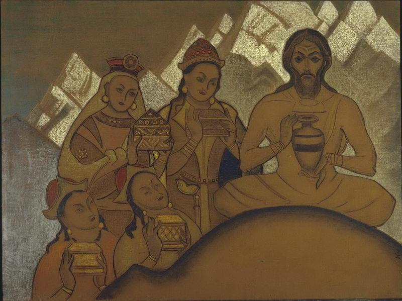 23-Николай Константинович Рерих - Священный дар - 1924.jpg