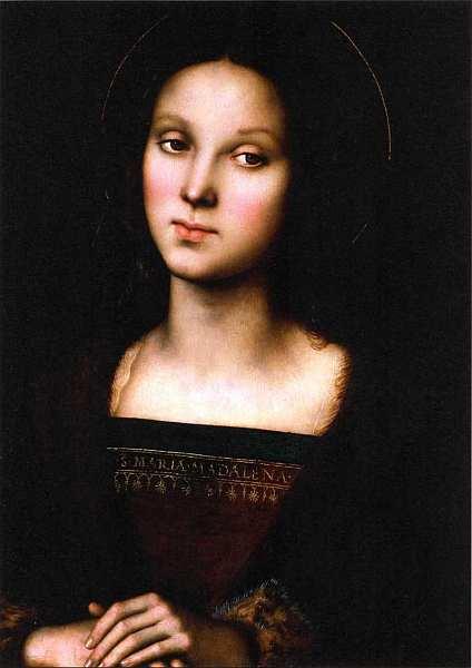 15-Пьетро Перуджино (между 1445 и 1452–1523) Святая Мария Магдалина. Около 1500.jpg