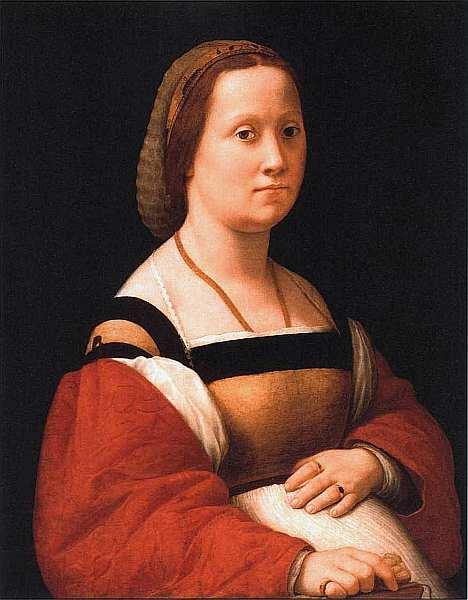 19-Рафаэль Санти (1483–1520) Портрет беременной женщины (Донна Гравида). Около 1505–1506.jpg