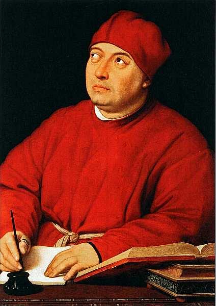 24-Рафаэль Санти (1483–1520) Портрет Томмазо Ингирами по прозвищу Федра. Около 1514–1516.jpg