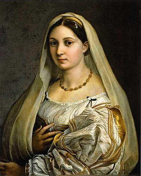 26-Рафаэль Санти (1483–1520) Донна Велата (Женщина с покрывалом). Около 1516.jpg